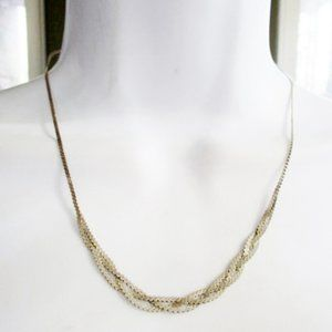 Jewelry - Boho Festival 925 STERLING SILVER Braided Necklace